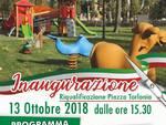 inaugurazione piazza torlonia