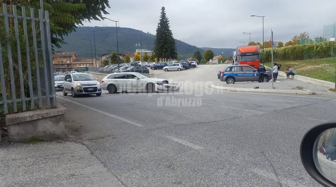 incidente rotonda via beato cesidio