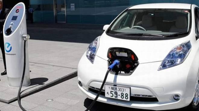 auto elettriche colonnina