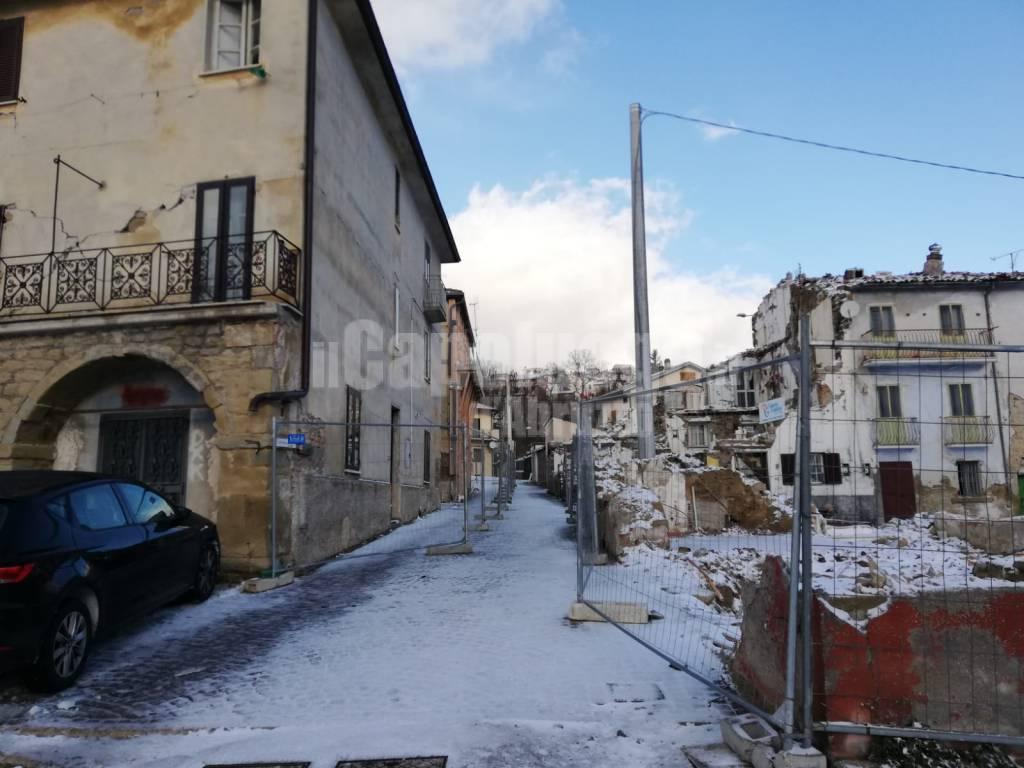 Neve a Campotosto