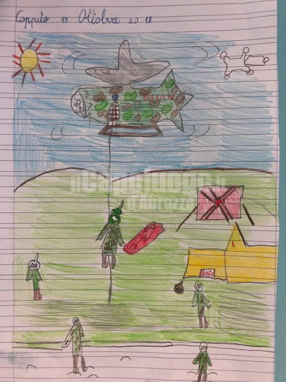 vardirex esercito disegni bambini