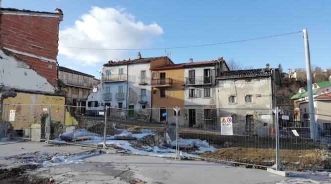 Campotosto terremoto 2017 alta valle dell'aterno