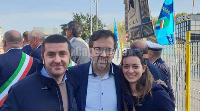 fratelli d'italia Michele Malafoglia, Andrea De Priamo, Margherita Paoletti