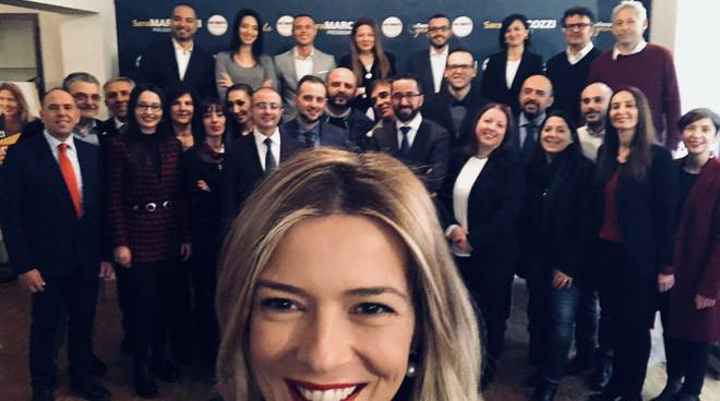 marcozzi e i candidati regionali m5s