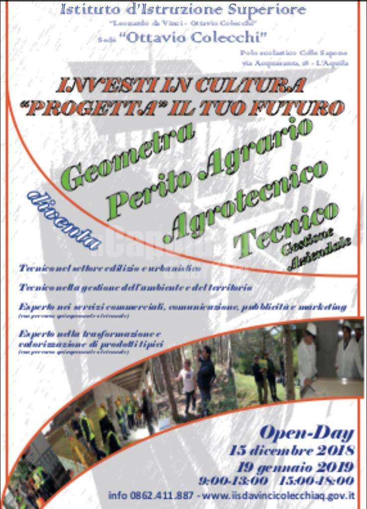 open day colecchi