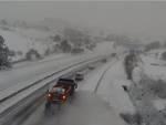strada dei parchi neve strada innevata maltempo a24
