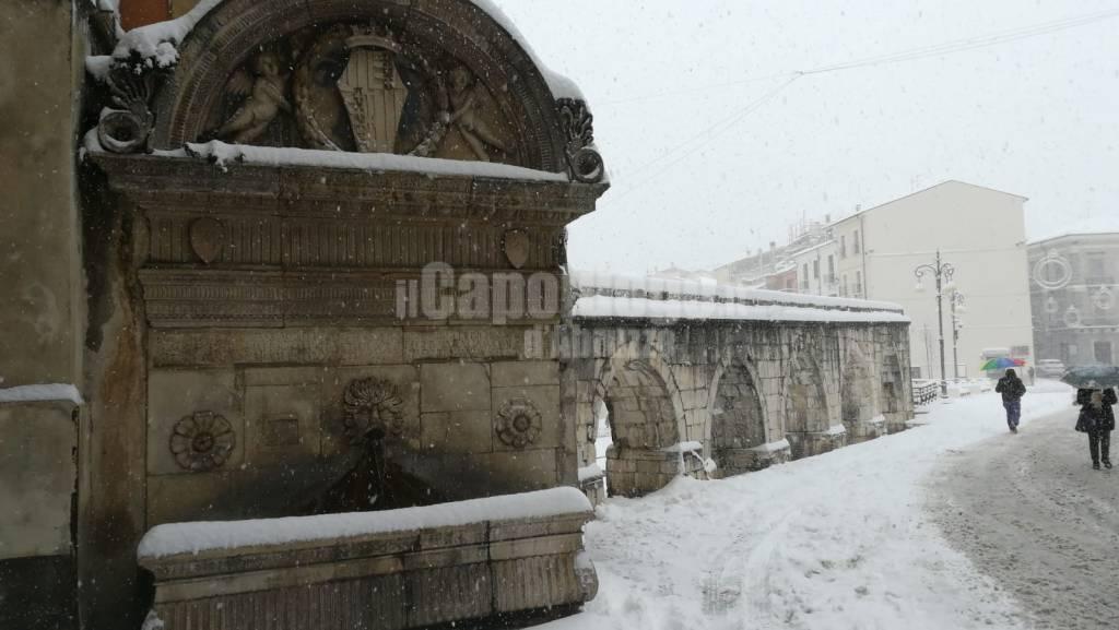 sulmona sotto la neve