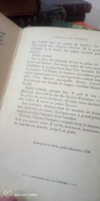 Il Piacere Gabriele D'Annunzio casbah di Algeri Augusto Cicchinelli mercatino portone