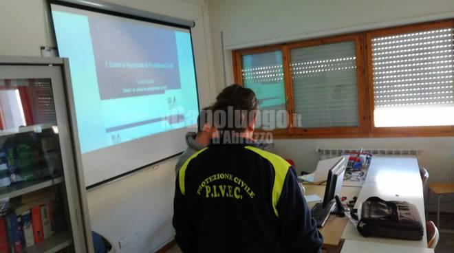 Le buone pratiche della Protezione Civile all'istituto Maritain