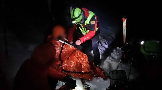 passolanciano sciatrice dispersa