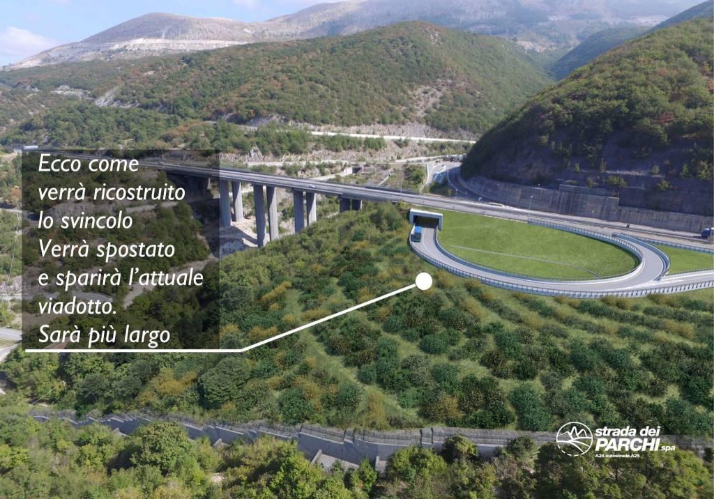 strada dei parchi viadotti