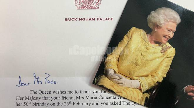 auguri regina elisabett