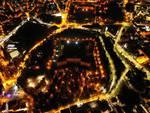 centro storico l'aquila da drone