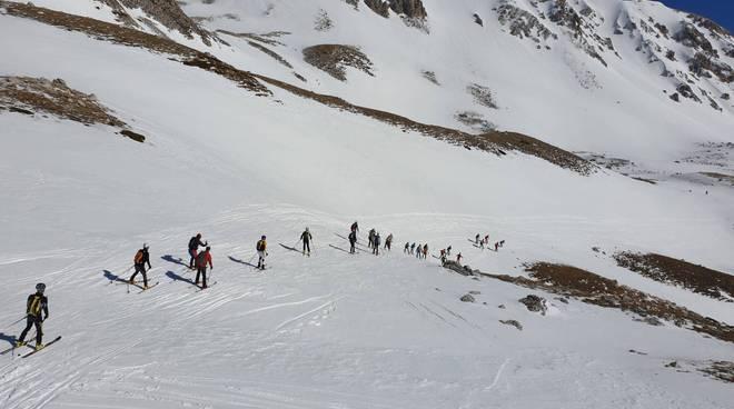 gran sasso sci skialpdeiparchi trofeo 3 amici