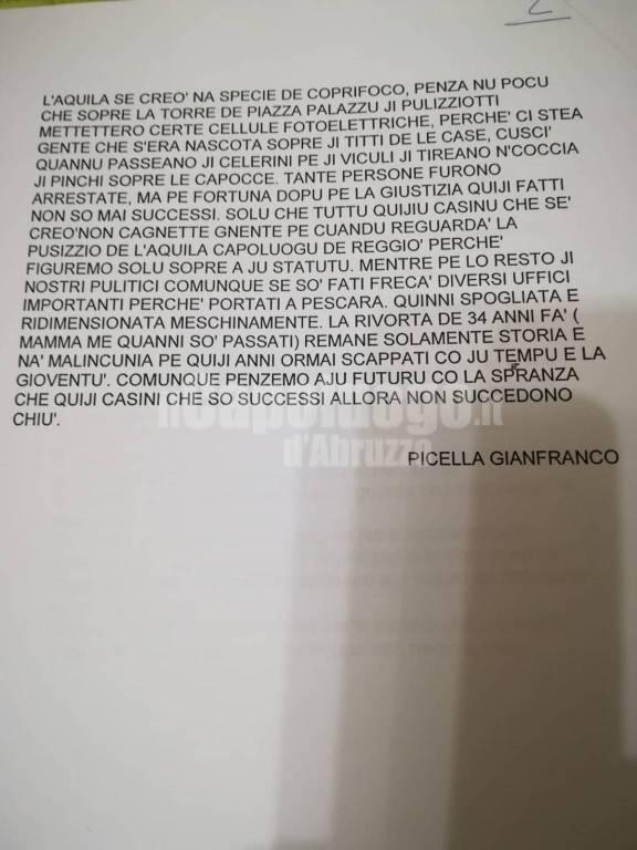 i moti nel racconto di Gianfranco Picella