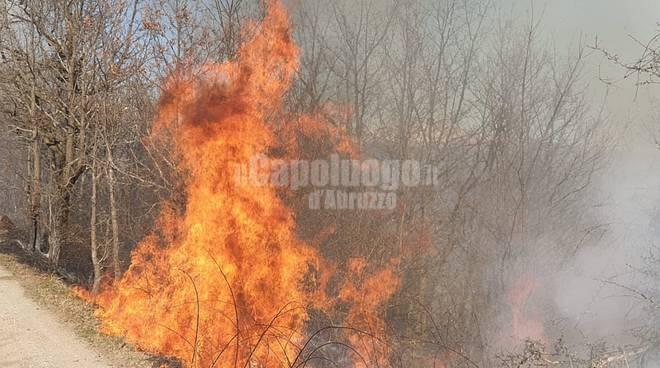 incendio montereale