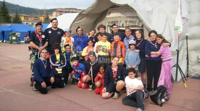 scout l'aqula terremoto 2009