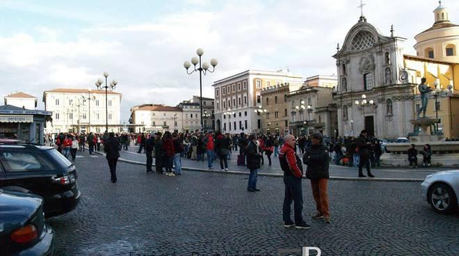 terremoto 2009 scossa piazza duomo luigi baglioni