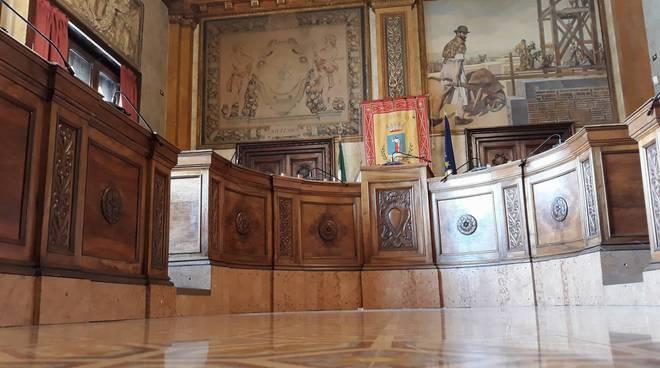 sala consiliare Avezzano