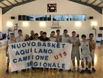 Nuovo Basket Aquilano campione regionale under 15