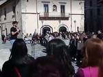 protesta liceo classico sulmona foto onda tv