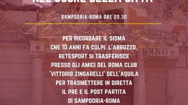 retesport sampdoria roma
