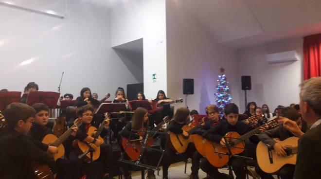 concerto alunni chitarra scuola Alighieri L'Aquila