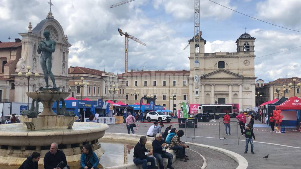 giro d'italia l'aquila 17 maggio 2019