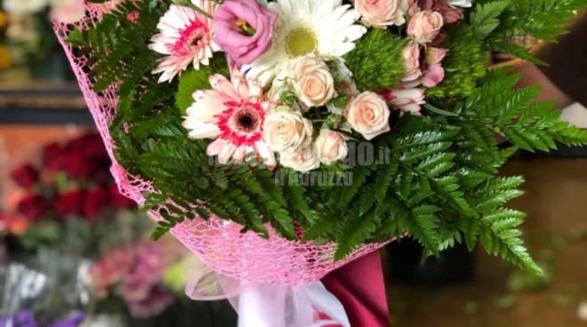 mazzo fiori de marchi giro d'italia,