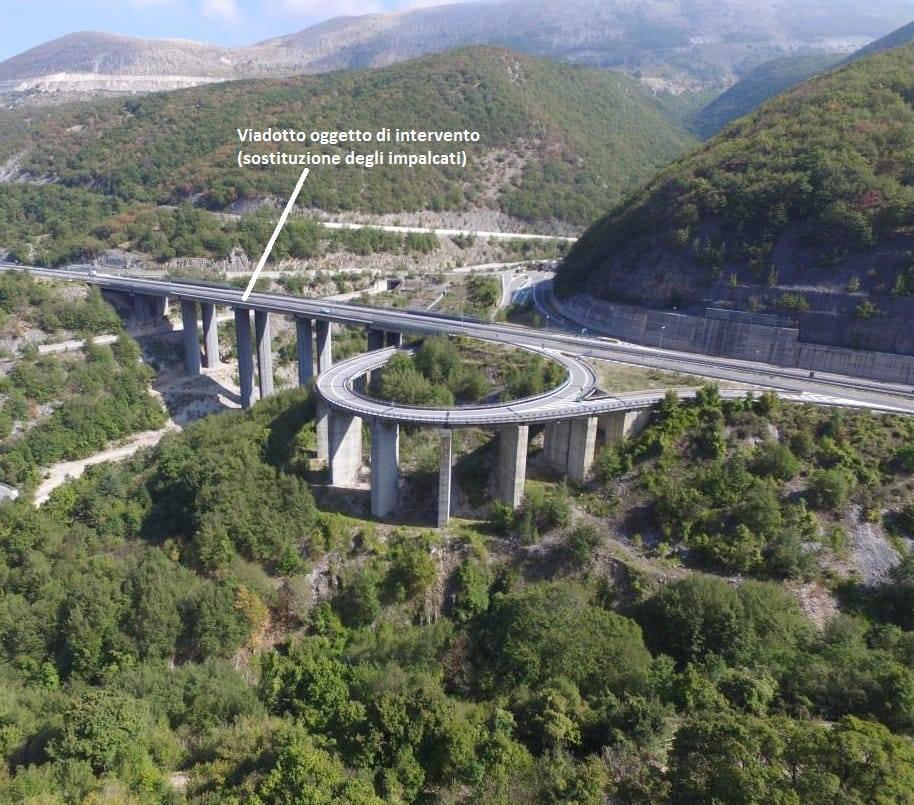 viadotto tornimparte autostrada