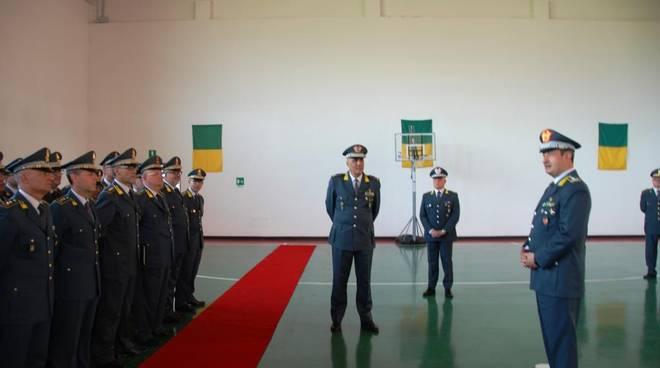 Neocomandate interregionale Guardia di Finanza in visita a L'Aquila