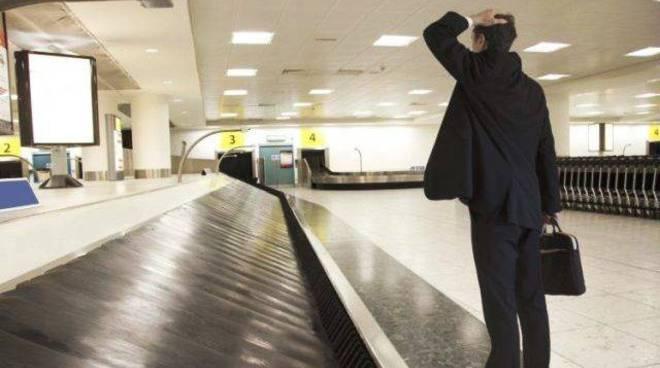 bagagli smarriti in aeroporto