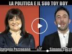 Simone Coccia Colaiuta e Stefania Pezzopane alle Iene