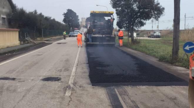 manutenzione strada statale
