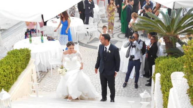 Marco e Silvia sposi