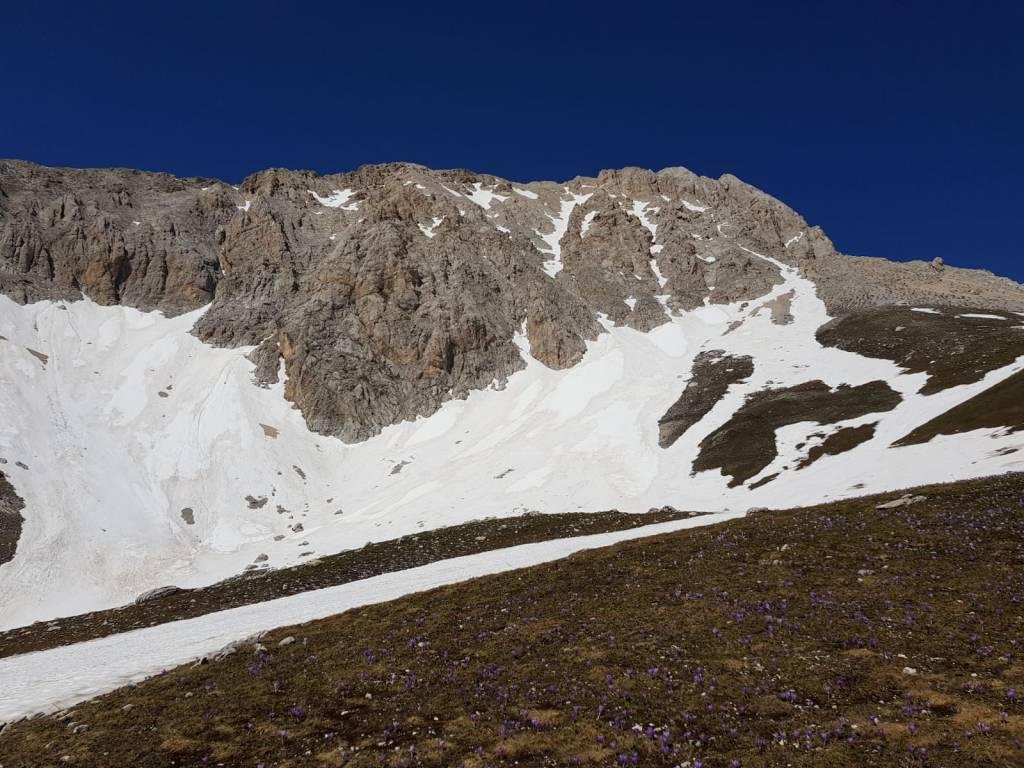 gran sasso neve