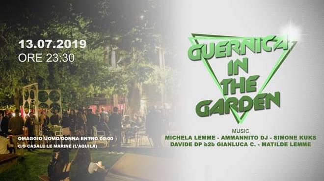 guernica in the garden