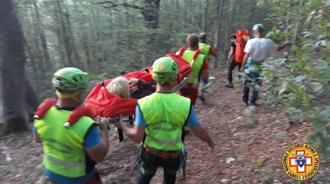 cnsas soccorso alpino cammino dei briganti