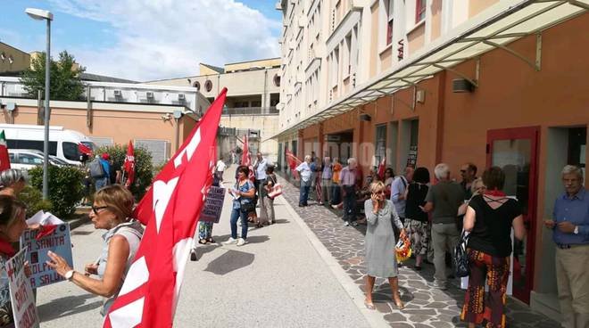 cup protesta ospedale