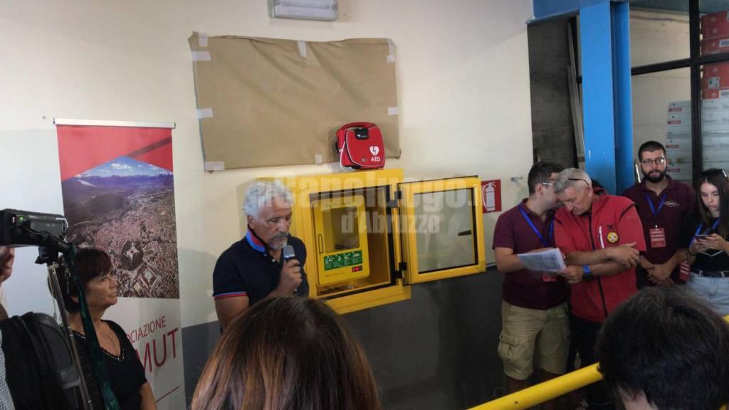 defibrillatori azimut gran sasso