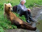uomo e orso