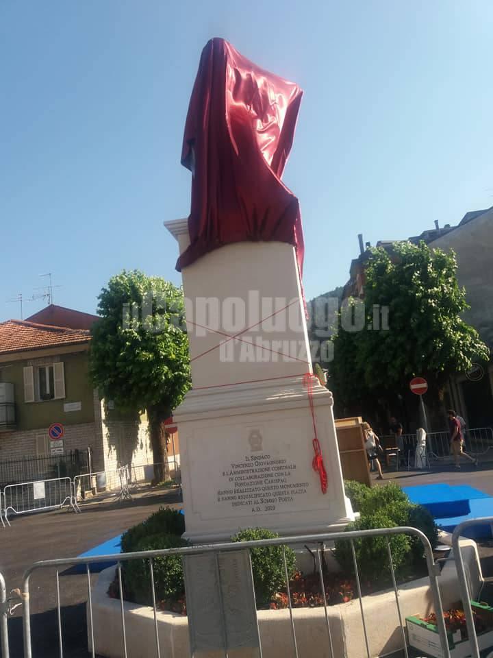statua tagliacozzo dante