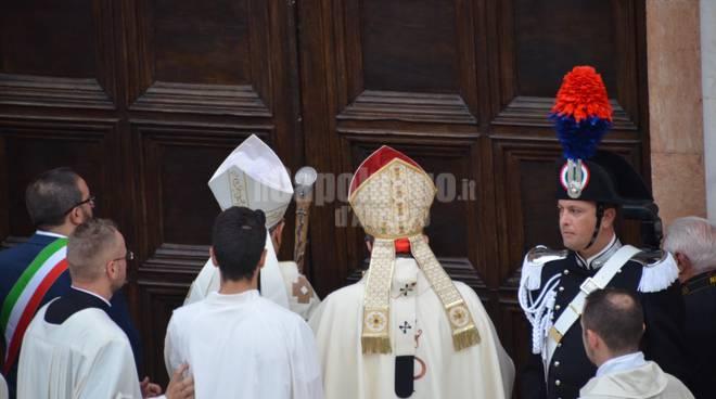 Apertura della porta santa perdonanza