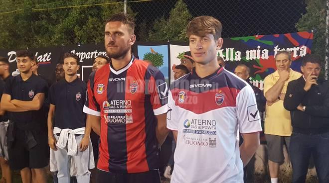 L'Aquila 1927, presentazione squadra stagione 2019/2020