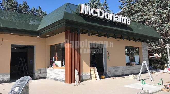 mcdonald's lavori in corso - agosto 2019