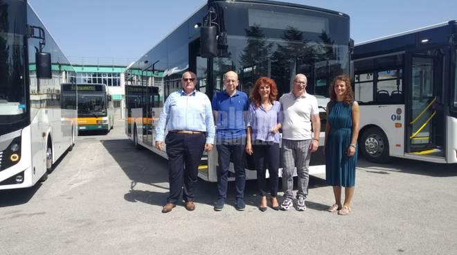 nuovi autobus Comune