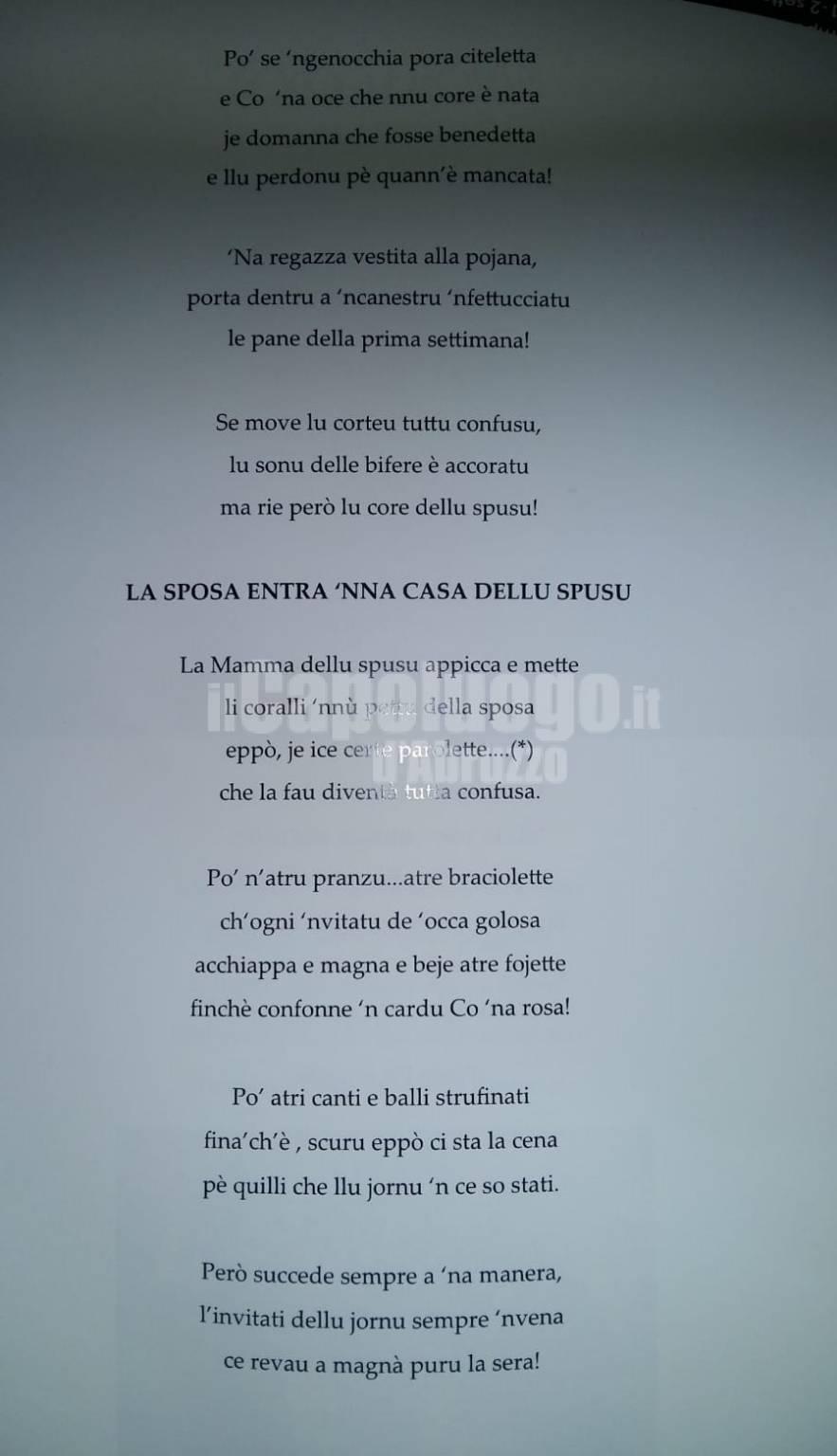 sposa pojana poesie paolo de angelis