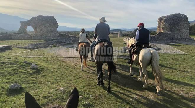 Abruzzo a Cavallo sulle tracce degli antichi romani