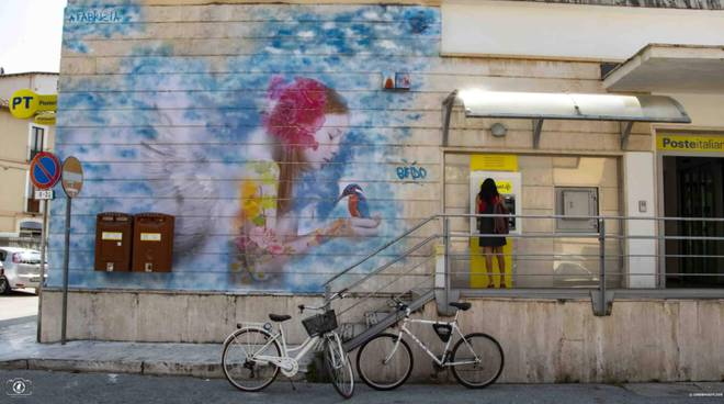 murale fabrizia di lorenzo