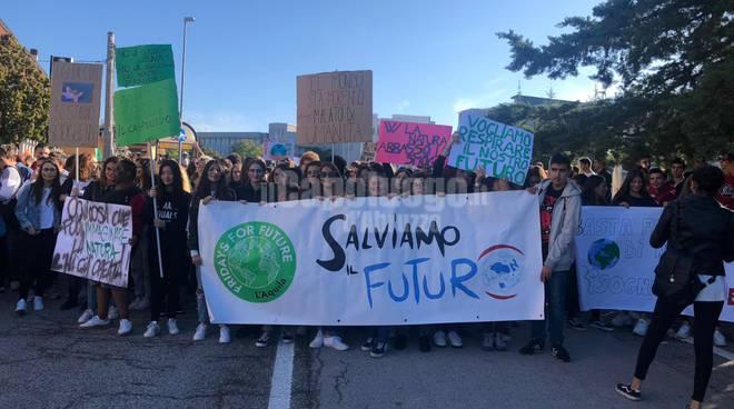 studenti aquilani global strike